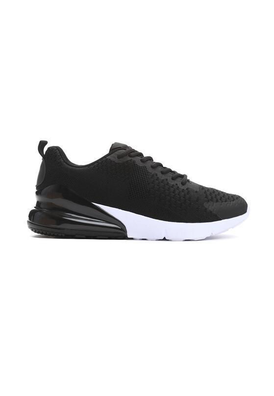 Czarno-Białe Buty Sportowe Semblance