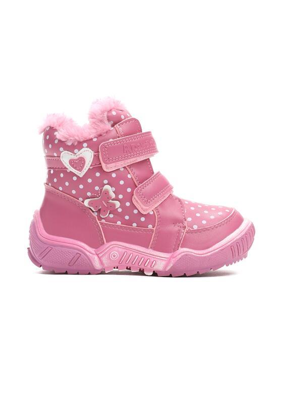 Różowe Traperki Snow Cover