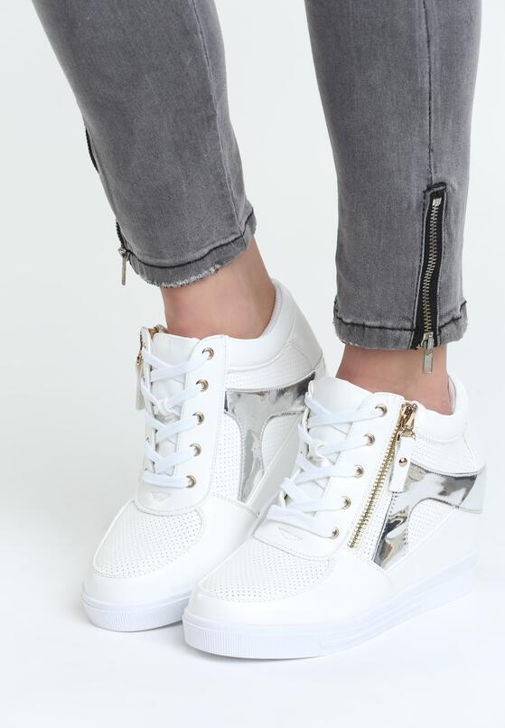 Białe Sneakersy I'm Ready