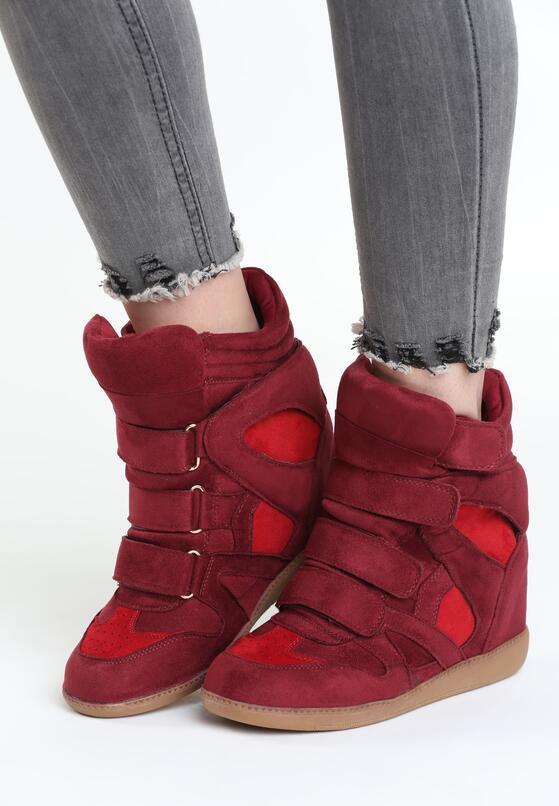 Czerwone Sneakersy Tolerable