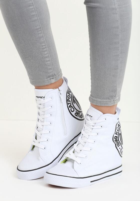 Białe Sneakersy Rubby