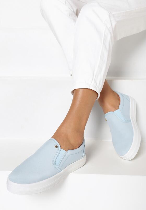 Niebieskie Slip On Alba