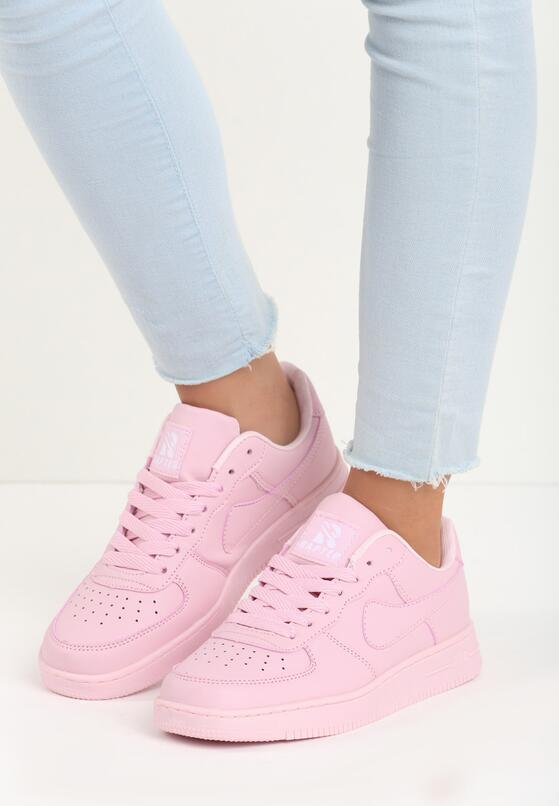 Różowe Buty Sportowe Trini