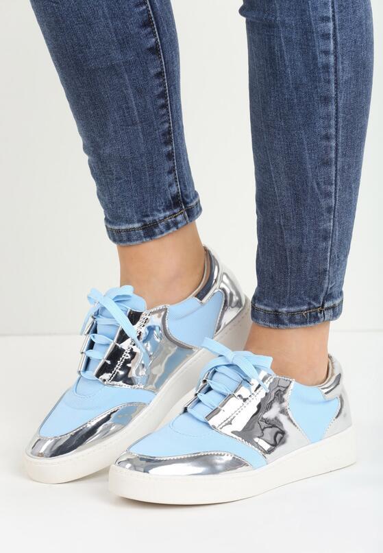 Niebieskie Buty Sportowe Glen