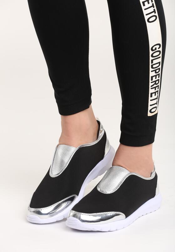 Czarne Buty Sportowe Siggy