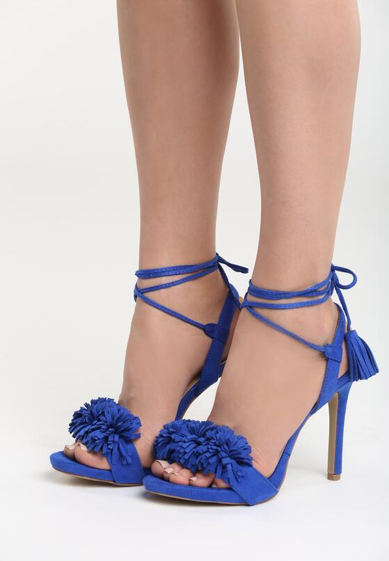 Niebieskie Sandały Uptown