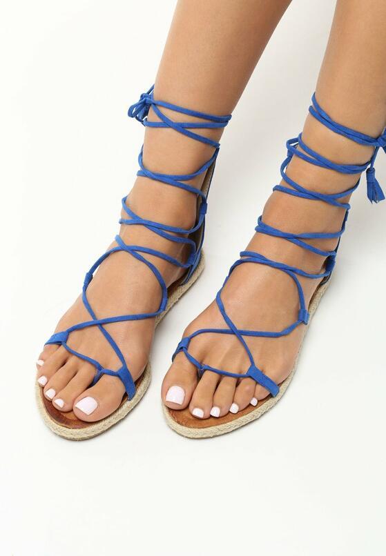 Kobaltowe Sandały Castiel