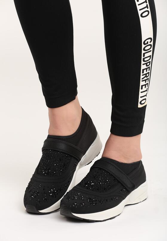 Czarne Buty Sportowe Fornax