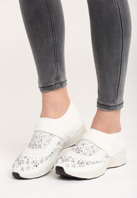 Białe Buty Sportowe Fornax