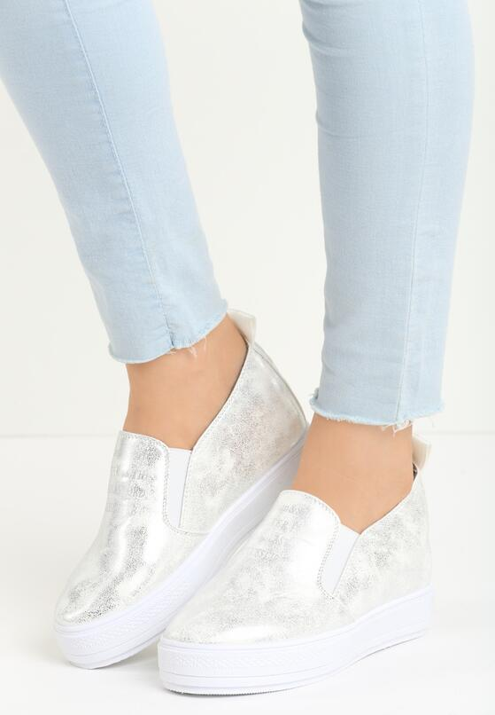 Białe Sneakersy Leoni