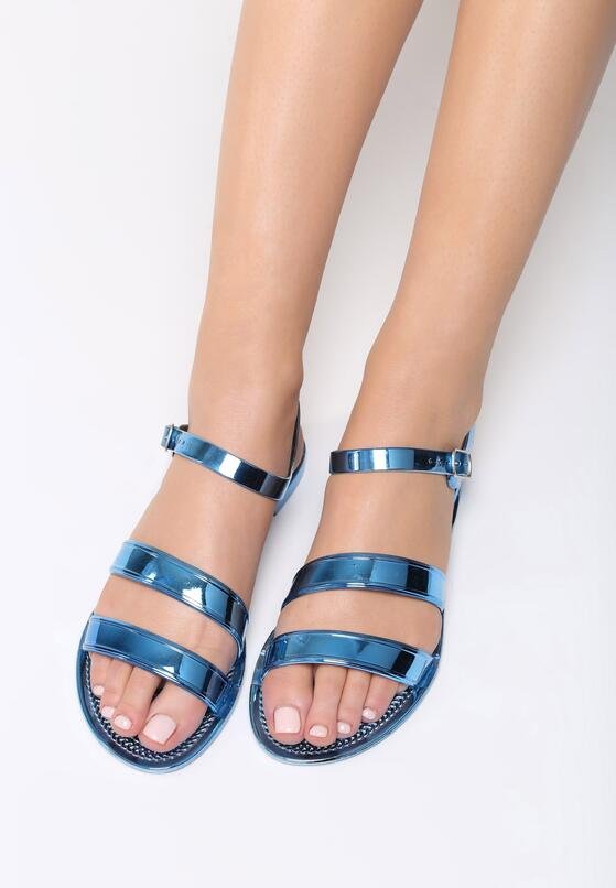 Niebieskie Sandały Ingest