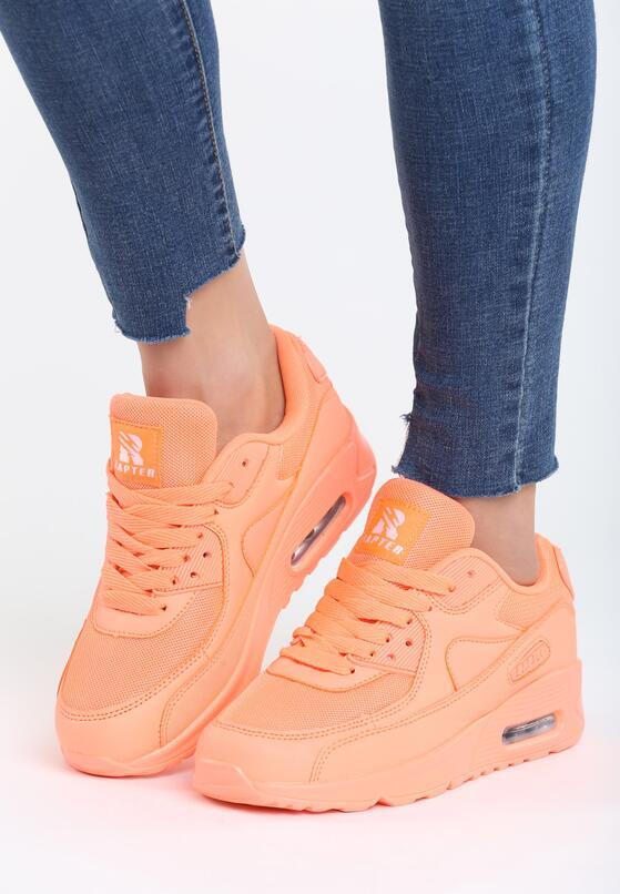 Pomarańczowe Buty Sportowe Classical Nilda