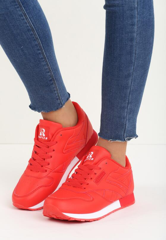 Czerwone  Buty Sportowe Myron