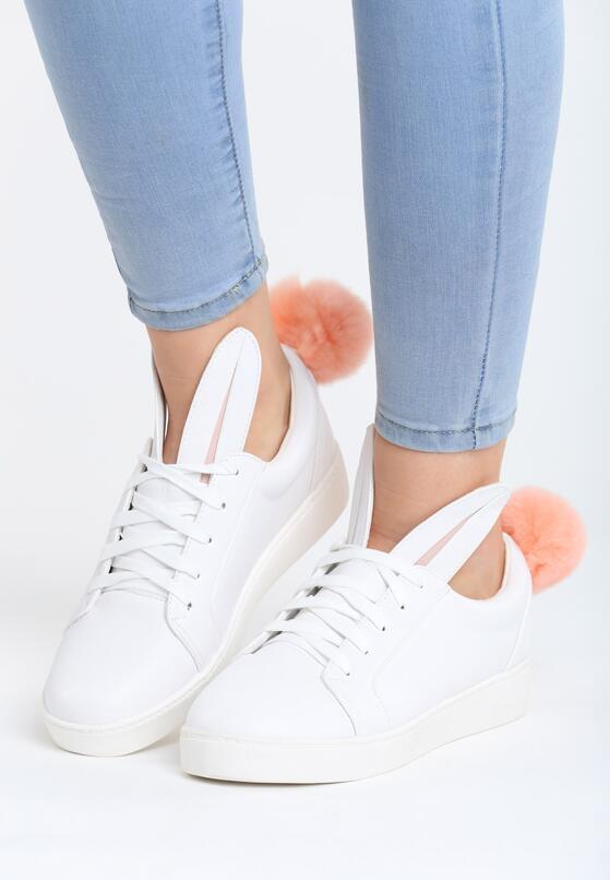 Białe Buty Sportowe Lapin
