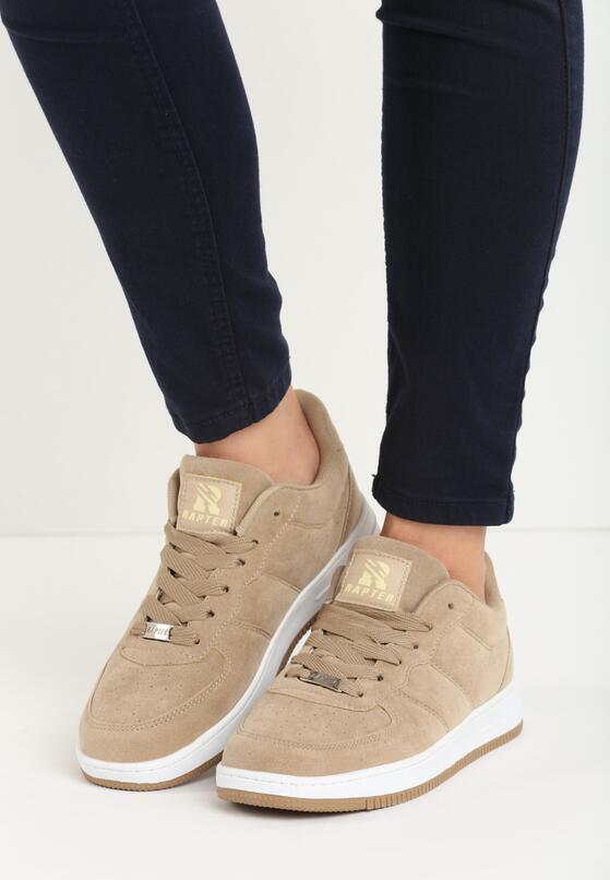 Beżowe Buty Sportowe Alenia