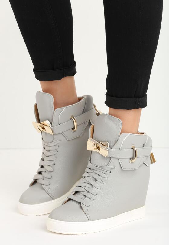 Szare Sneakersy Lulu