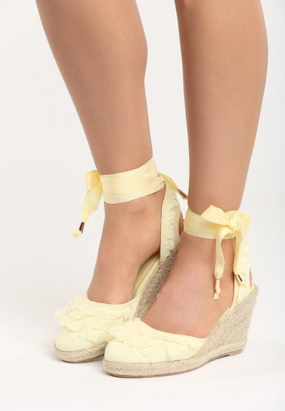 Żółte Sandały Starships