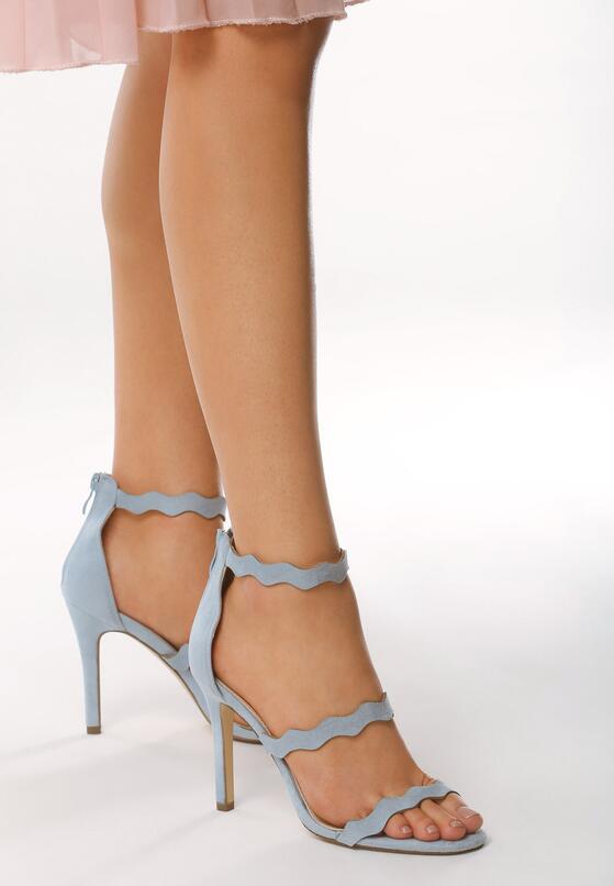 Niebieskie Sandały Skyways