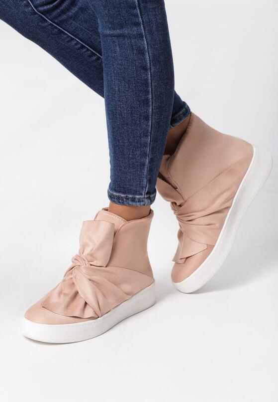 Różowe Sneakersy Scilla