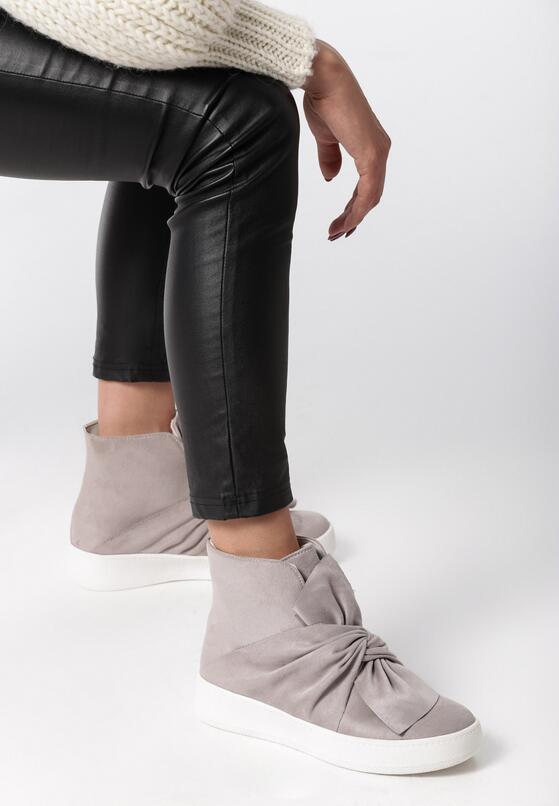 Szare Sneakersy Scilla