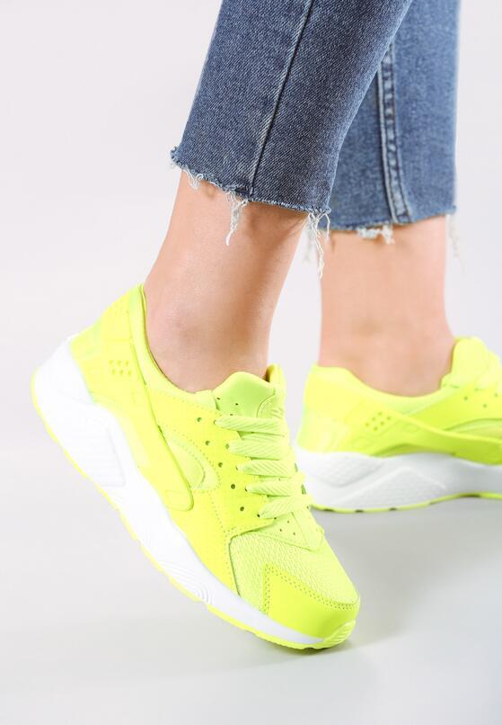 Limonkowe Buty Sportowe Peris
