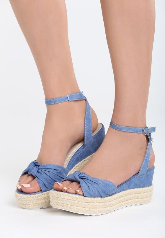 Niebieskie Sandały Madness