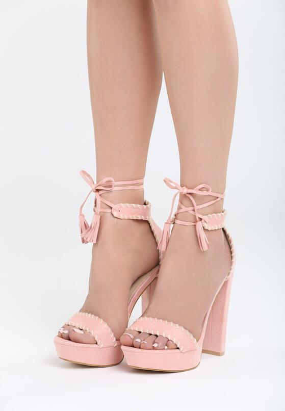 Różowe Sandały Sedated