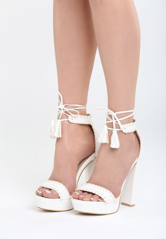 Białe Sandały Sedated