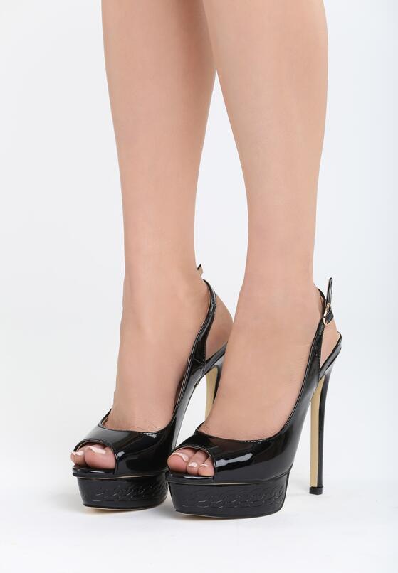 Czarne Sandały My Way