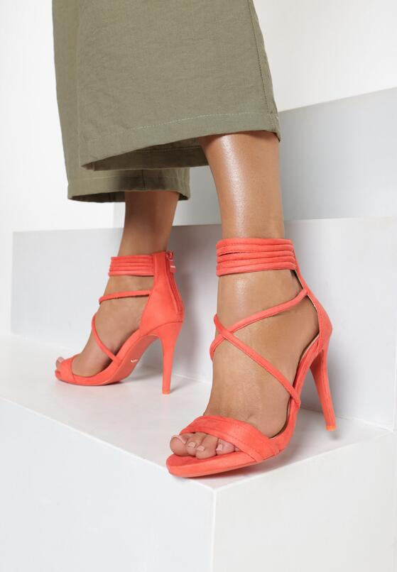 Koralowe Sandały Miss Independent
