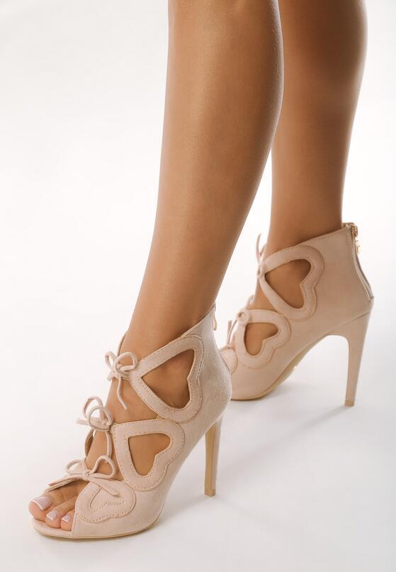 Beżowe Sandały Valentine