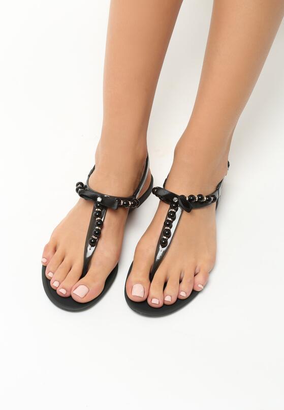 Czarne Sandały Roundup