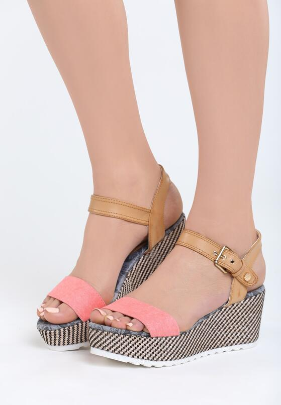 Różowe Sandały Chunk