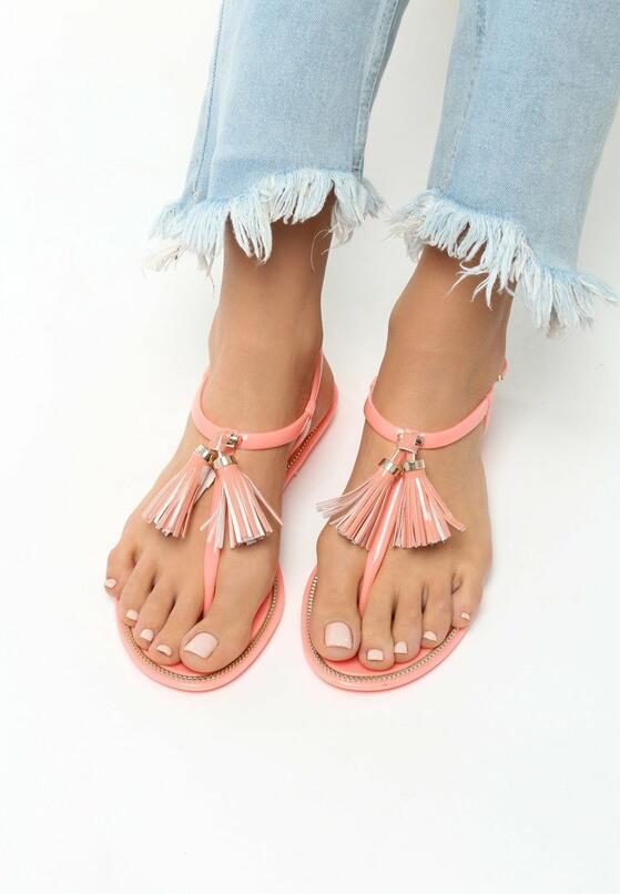 Pomarańczowe Sandały Whiplash