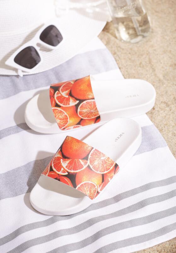 Pomarańczowe Klapki Sweet Oranges