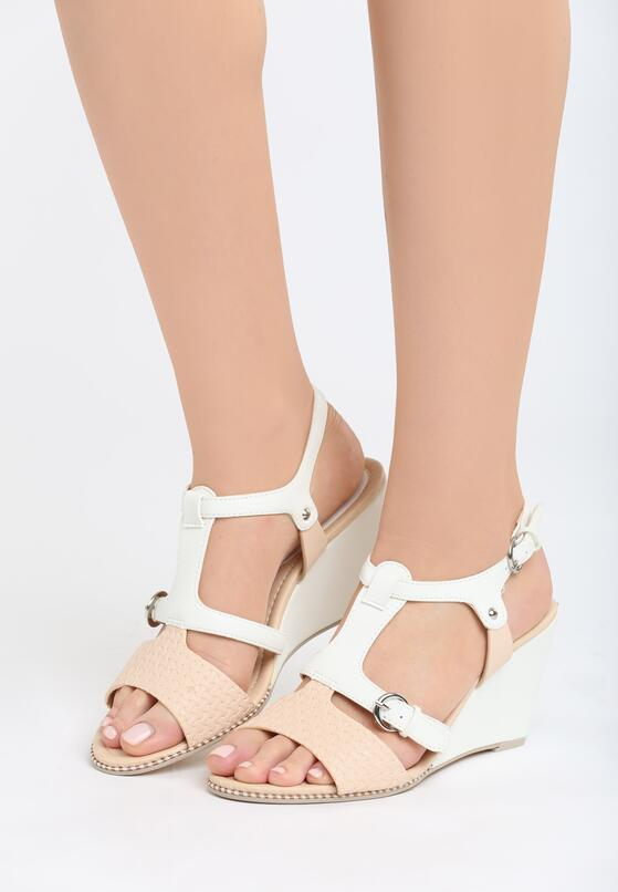 Białe Sandały Fortune Teller