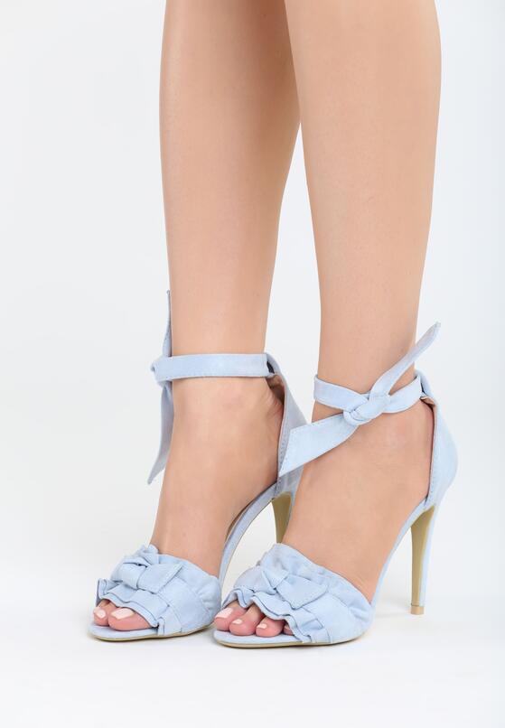Niebieskie Sandały Spring Trip