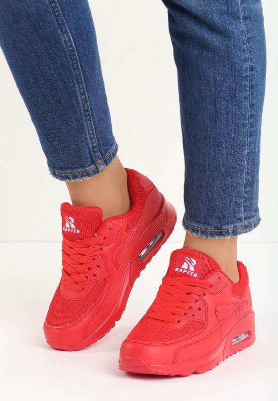 Czerwone Buty Sportowe Classical Nilda