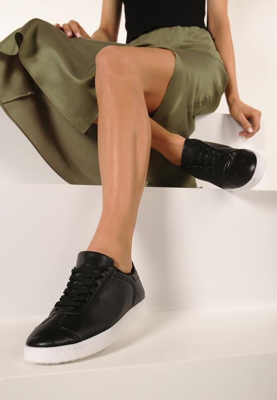 Czarne Buty Sportowe Pashi