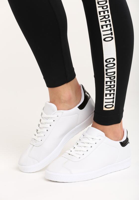 Czarno-Białe Buty Sportowe Pashi