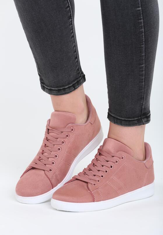 Różowe Buty Sportowe Genos