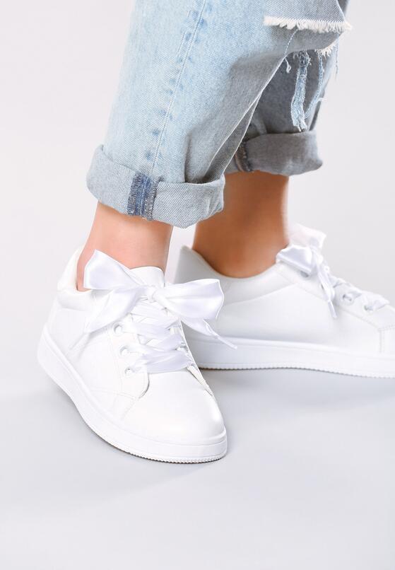 Białe Buty Sportowe Back to You