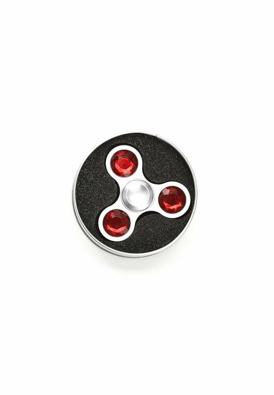 Czerwony Fidget Spinner Pinky Ball