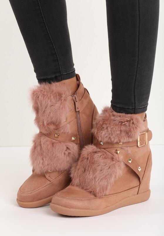 Różowe Sneakersy Arctophile