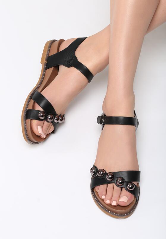 Czarne Sandały Ramble On