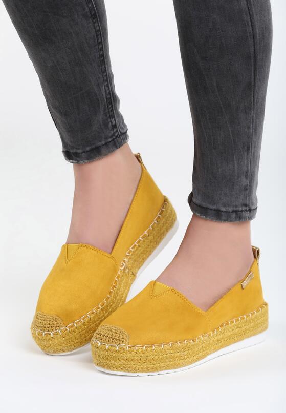 Żółte Espardyle Crazy Circus