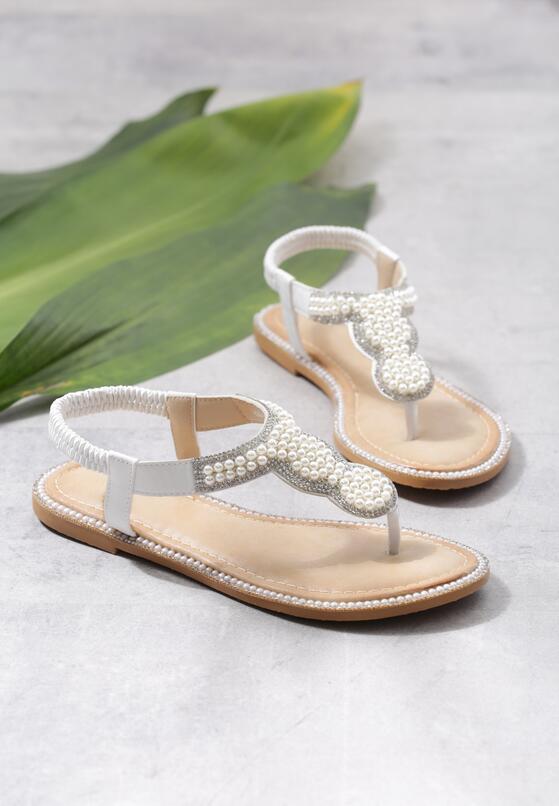 Białe Sandały International Rescue