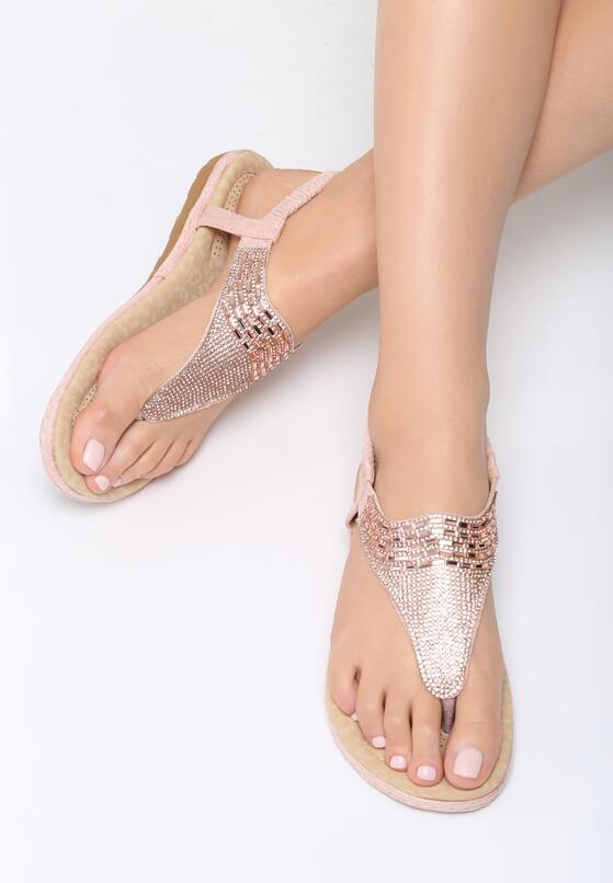 Różowe Sandały Coral Berry