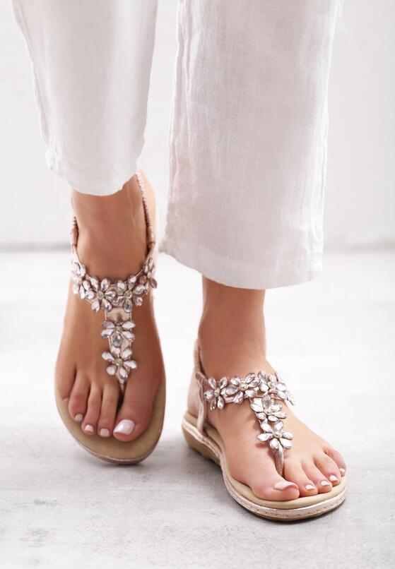 Różowe Sandały Cyclamen