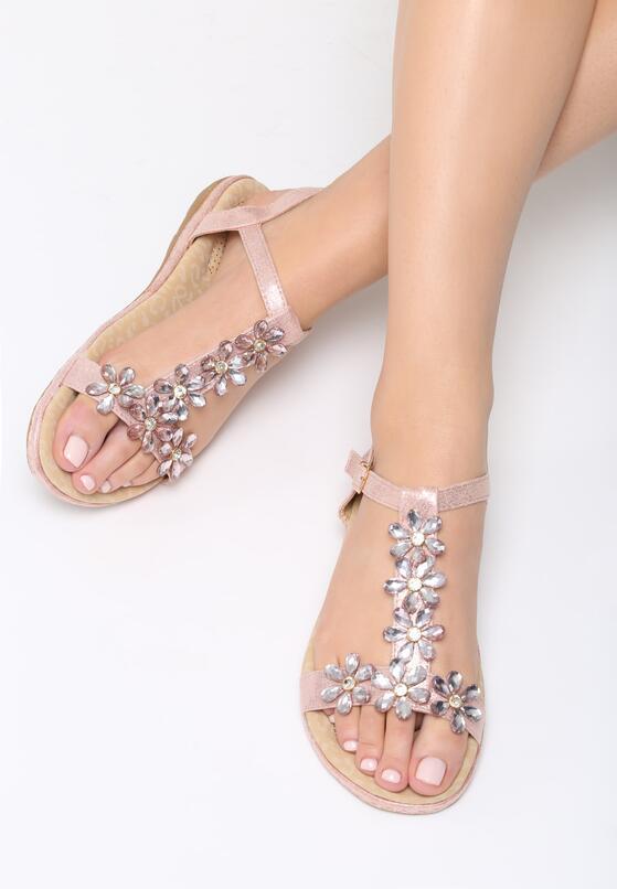 Różowe Sandały Scarlet Star